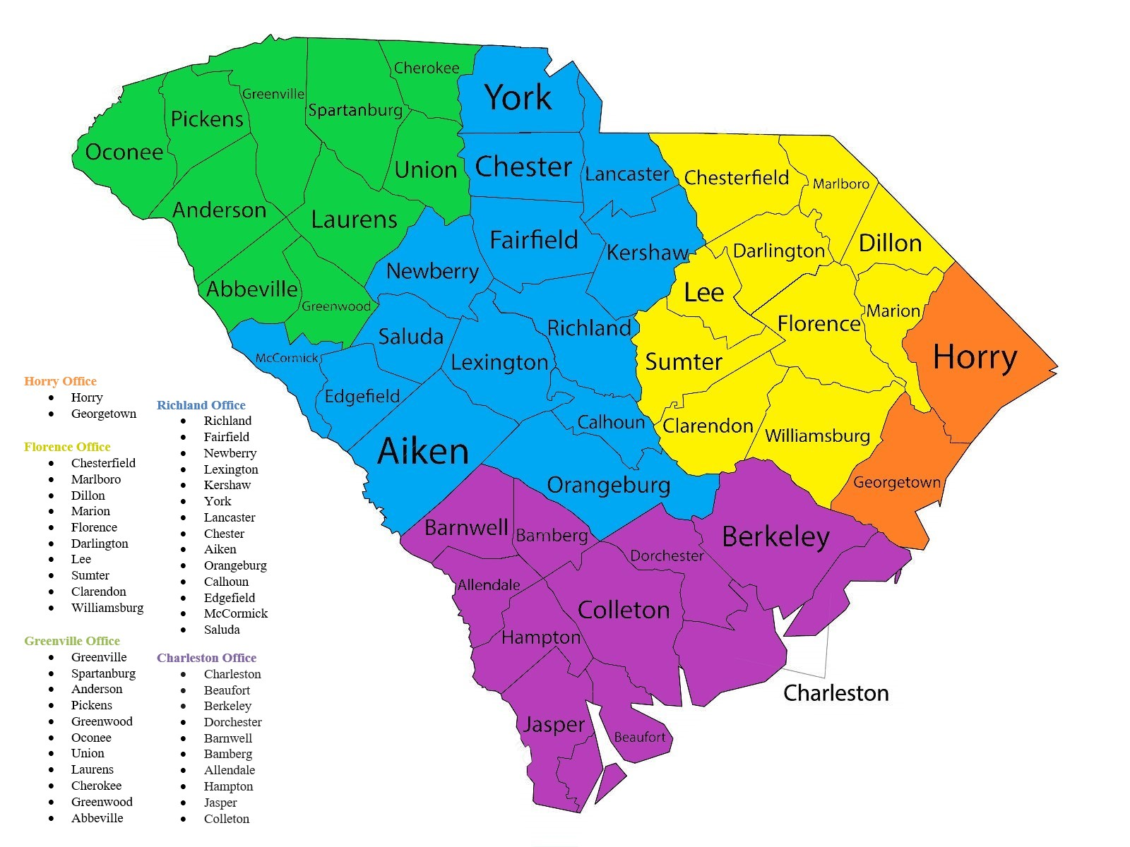 Youth Behavioral Services Locations in South Carolina