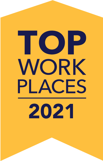Top Work Place 2021 - Pittsburgh